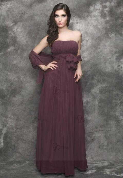 Long evening dress mystical